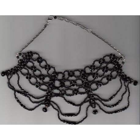 Collier Mystérieuse noir