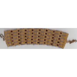 Bracelet Corset fuschia or